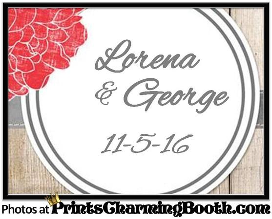 11-5-16 Lorena & George Wedding logo