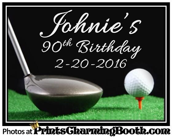 2-20-16 Johnny's 90th Birthday Party