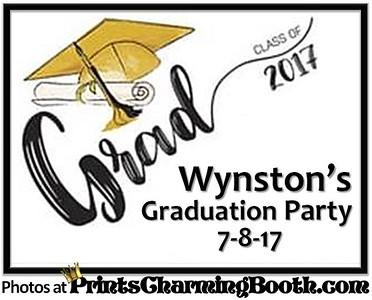 7-8-17 Wynston's Graduation Party logo