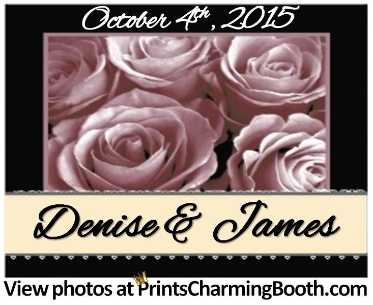 10-4-15 Denise and James Wedding logo - Ver  3