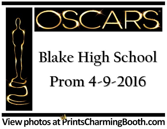 4-9-16 Blake High School Prom logo