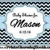 6-12-16 Baby Shower for Mason logo