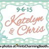 9-6-15 Katelyn and Chris Wedding logo - option 2