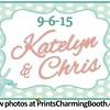 9-6-15 Katelyn and Chris Wedding logo - option 2