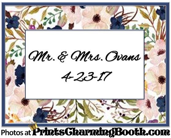 4-23-17 Mr and Mrs Ovans Wedding logo