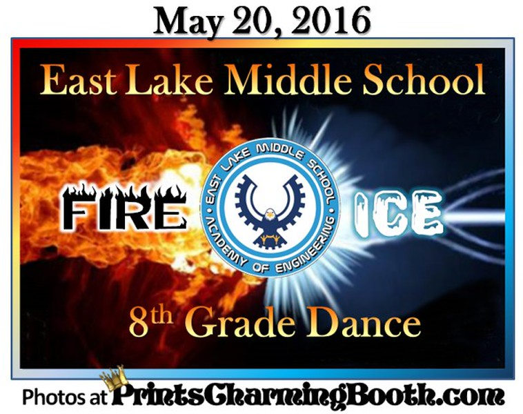 5-20-16 Eastlake Middle School 8th Grade Dance logo