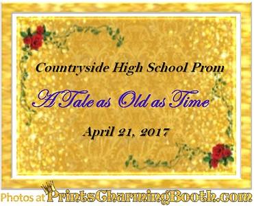 4-21-17 Countryside High School Prom logo