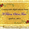 4-21-17 Countryside High School Prom logo