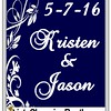 5-7-16 Kristen and Jason Wedding logo