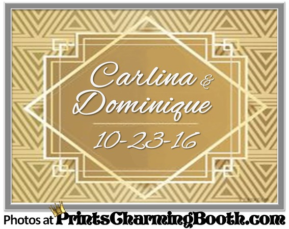 10-23-16 Carlina & Dominique Wedding logo ver 1