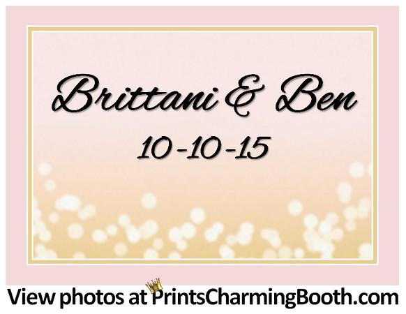 10-10-15 Brittani & Ben Wedding logo