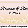 10-10-15 Brittani & Ben Wedding logo