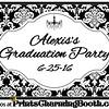 6-25-16 Alexis's Grad Party logo