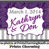 3-1-14 Kathryn and Don Logo