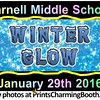 1-29-16 Farnell Winter Glow Party logo
