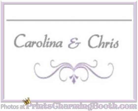4-29-17 Carolina and Chris Wedding logo