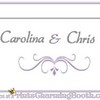 4-29-17 Carolina and Chris Wedding logo