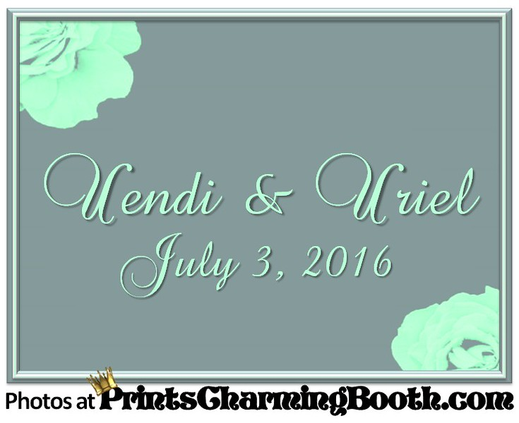 7-3-16 Uendi and Uriel Wedding logo