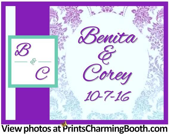 10-7-16 Benita & Corey Wedding logo