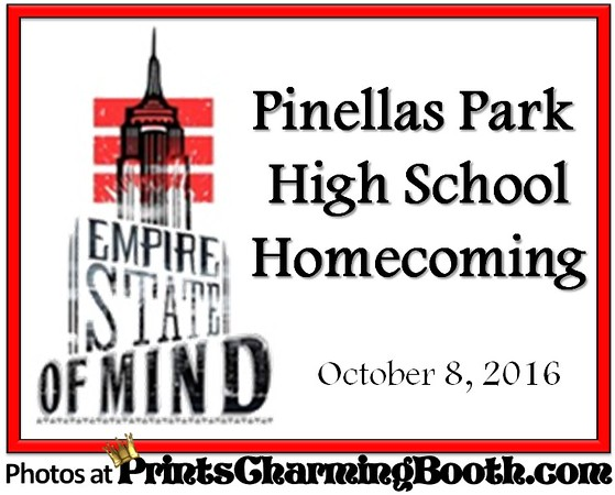 10-8-16 Pinellas Park High School Homecoming logo