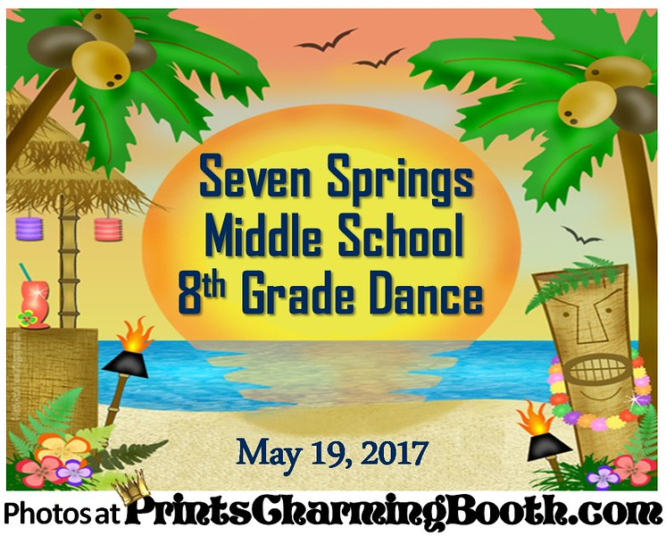 5-19-17 Seven Springs Middle School 8th Grade Dance logo