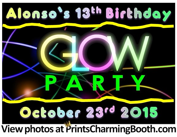 10-23-15 Alonso's 13th Birthday Party logo