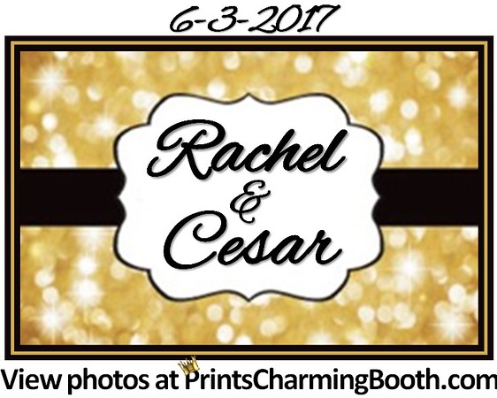 6-3-17 Rachel & Cesar Wedding logo 2