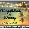 5-7-16 Magdalena and Danny Wedding logo - correct name