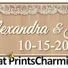 10-15-16 Alexandra and Joseph Wedding logo - option 1