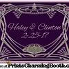 2-25-17 Haley & Clinton Wedding logo