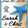 1-16-16 Sarah and Chris Wedding - ver 1 with chinese symbol