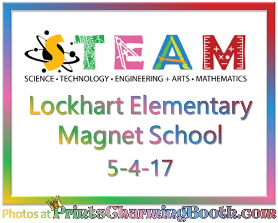 5-4-17 Lockhart Elementary STEAM logo