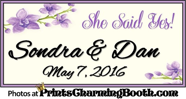 5-7-16 Sondra and Dan Wedding logo