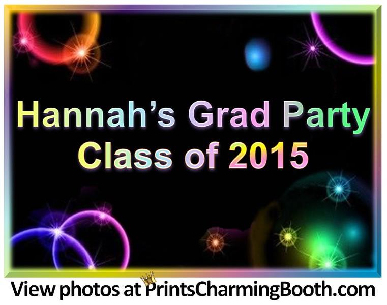 7-9-16 Hannah's Grad Party Class of 2015 logo