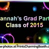 7-9-16 Hannah's Grad Party Class of 2015 logo