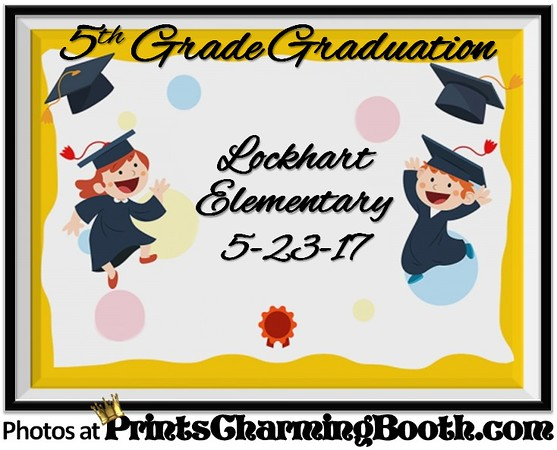 5-23-17 Lockhart Elementary 5th Grade Graduation logo