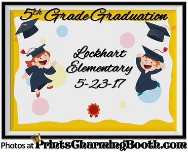 5-23-17 Lockhart Elementary 5th Grade Graduation logo