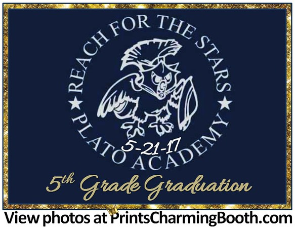 5-21-17 Plato Academy 5th Grade Graduation logo