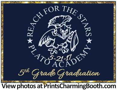 5-21-17 Plato Academy 5th Grade Graduation logo