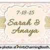 7-18-15 Sarah and Anaya Logo
