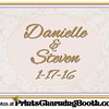 1-17-16 Danielle and Steven Wedding logo