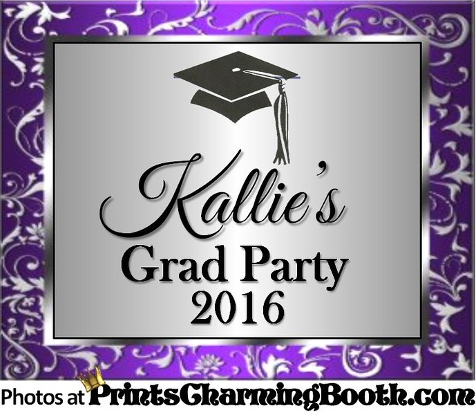6-4-16 Kallie's Grad Party 2016 logo - revised