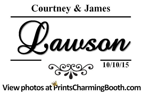 10-10-15 Courtney & James Lawson Wedding logo
