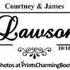 10-10-15 Courtney & James Lawson Wedding logo