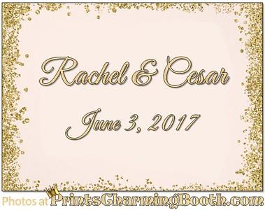 6-3-17 Rachel & Cesar Wedding - 3rd logo created
