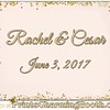 6-3-17 Rachel & Cesar Wedding - 3rd logo created