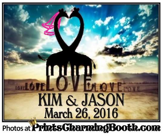 3-26-16 Kim & Jason Wedding logo