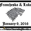 1-9-16 Francheska & Luke Wedding logo
