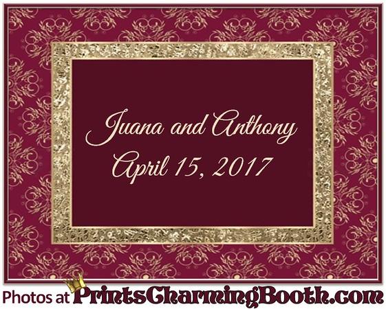 4-15-17 Juana and Anthony Wedding logo