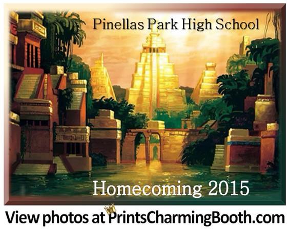 9-26-15 Pinellas Park Homecoming logo